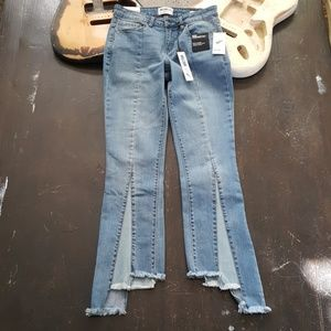 NWT William Rast Crop Flare Jeans